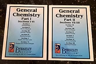 General Chemistry Part 1 & 2 Berkeley Review (2 Volumes) (Mcat Preparation)