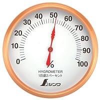 シンワ測定(Shinwa Sokutei) 湿度計 T-1 丸型 10cm 72690