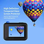 [6pcs] FINEST+ Screen Protector for GoPro Hero 8 Black Tempered Glass Screen Protector + Tempered Glass Lens Protector… 10 【Secifically Design】 Compatible with GoPro Hero 8.Black action camera Only. 【High-Transparency】It provides you high-definition clear viewing. Hydrophobic Oleophobic screen coating protects your camera screen against sweat and oil residue from fingerprints and keeps high-sensitivity touch response. 【9H hardness】 Our Tempered Glass has 9H hardness. It protects the camera screen from high impact drops, scratches, scrapes, and bumps. It also keeps away the camera screen from sharp objects such as keys and knives, etc.