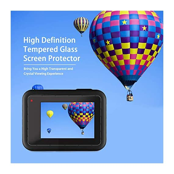 [6pcs] FINEST+ Screen Protector for GoPro Hero 8 Black Tempered Glass Screen Protector + Tempered Glass Lens Protector… 3 【Secifically Design】 Compatible with GoPro Hero 8.Black action camera Only. 【High-Transparency】It provides you high-definition clear viewing. Hydrophobic Oleophobic screen coating protects your camera screen against sweat and oil residue from fingerprints and keeps high-sensitivity touch response. 【9H hardness】 Our Tempered Glass has 9H hardness. It protects the camera screen from high impact drops, scratches, scrapes, and bumps. It also keeps away the camera screen from sharp objects such as keys and knives, etc.