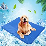 Dog Cooling Mat, Gel Self Cooling Mat for Dogs, Dog Gel Pad for Hot Summer Weather, Pressure Activated Pet Cooling Pad, Pet Dog Self Cooling Mat Pad for Kennels, No Water or Electricity Needed