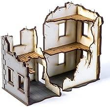 World at War - Buildings & Terrain 28mm Urban Ruins - Stalingrad #2 (Pre-Painted)