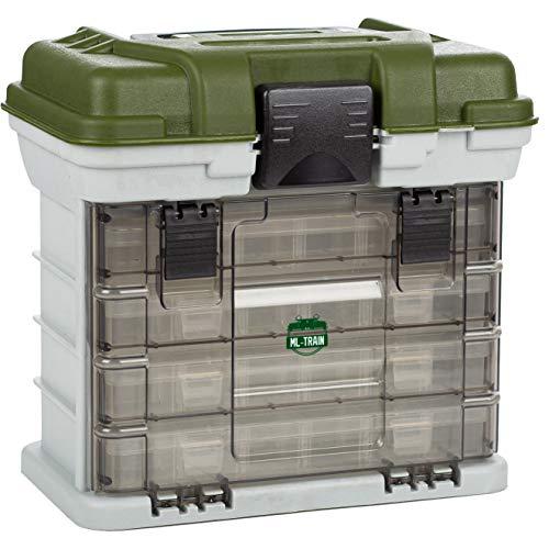 ML-Train Modellbau Werkzeug-Koffer & Modellbahn Aufbewahrungs-Box für LGB Ersatzteile, H0 Schrauben und Mehr