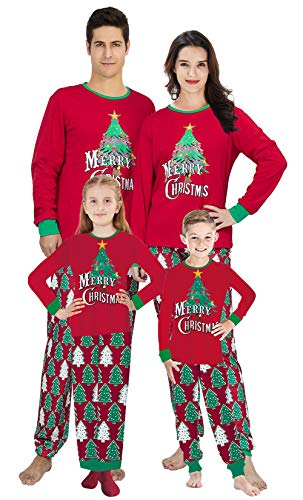 The whole family can become Santa in these festive, red Santa outfit style PJs. They really will get you in the Christmas spirit. Soft and comfortable 2 piece sets.