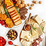 International Gourmet Collection - Premier Gift Basket - Featuring gourmet foods from all corners of the world, an exciting collection of international food favorites- Delicacies From England, Spain, Switzerland, Canada, Croatia, South Africa, Australia, France, Belgium, Ireland, Sweeden, Italy, Greece, and Germany