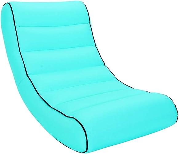 Sgsk ROM Coussin Air, Canapé Pique-Nique Ou Lit à Vent Intérieur avec Couverture Pique-Nique 145  70  25CM