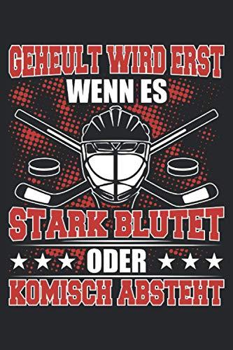 Eishockey Notizbuch: Eishockey Notizbuch A5 Kariert - zum planen, organisieren und notieren
