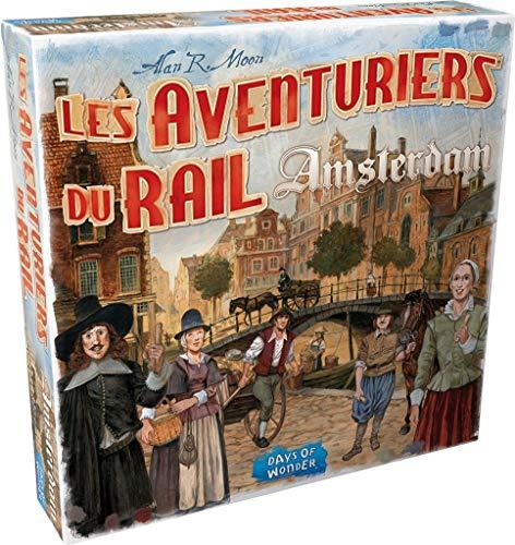 Days of Wonder Les aventuriers du Rail - Amsterdam