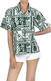 Blusas Camisa Hawaiana Ropa de Playa para Mujer Casuales botón de la Manga Corta de Arriba hacia Abajo Encubrimiento s