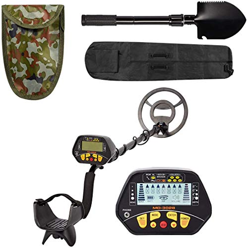 YODOLLA Accurate Metal Detector with LCD Display, Gold Detector with...