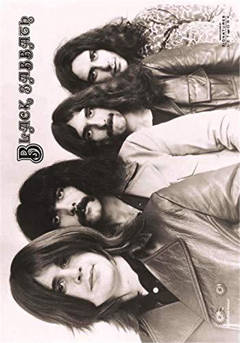 Black Sabbath Poster Band Shot 13 Nue offiziell Nue Textile 75cm x 110cm