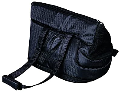 Trixie 36211 'Riva' Bag Pet Carrier Nylon 26 x 30 x 45 cm, Black