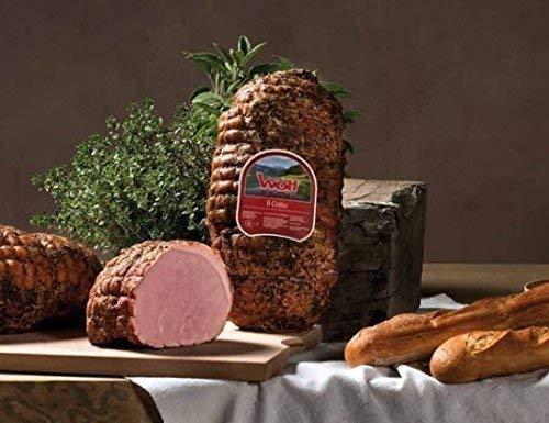 Einmalige Angebot ! ca. 750g Berg Prosciutto Cotto -100% italienische Spezialität- gekochter Schinken mit Kräutern, kalt geräuchert