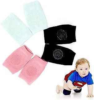WaterLuu Baby Knee Pads,Unisex Baby Toddlers Kneepads,Cotton Baby Crawling Kneepads