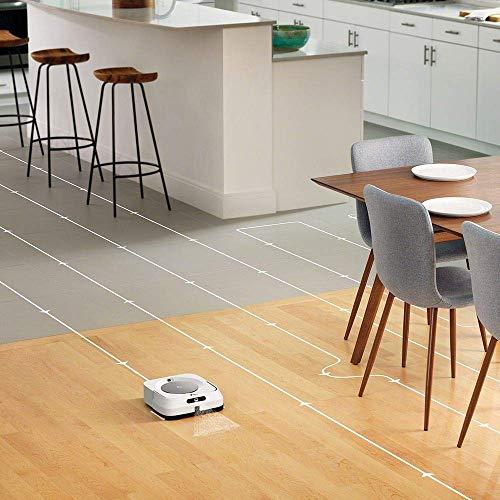 iRobot Braava m6 (m6134) Wischroboter mit WLAN, Präzisions-Sprühstrahl und erweiterter Navigation, Zeitplanreinigung, lernt und passt sich Ihrem Zuhause an, Nass- und Trockenwischen, App-Steuerung - 3