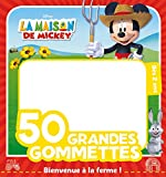 Mickey à la ferme, 50 GRANDES GOMMETTES DISNEY