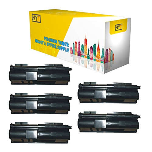 New York Toner New Compatible 5 Pack TK110 High Yield Toner for Kyocera-Mita - FS-720 FS-820 - Black