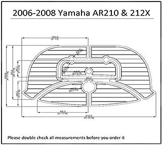 JZ 2006-2008 Yamaha AR210 & 212X Swim Platform Pad Boat EVA Teak Decking 1/4