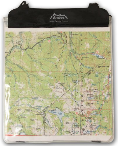 Andes PVC Clear Waterproof Map C...