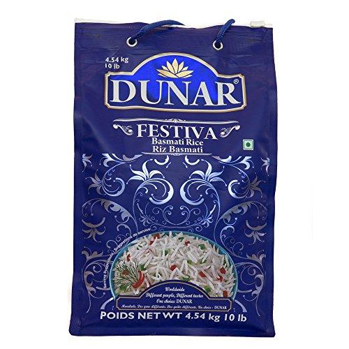 Dunar Festiva Pusa Basmati Rice, 10 Lb