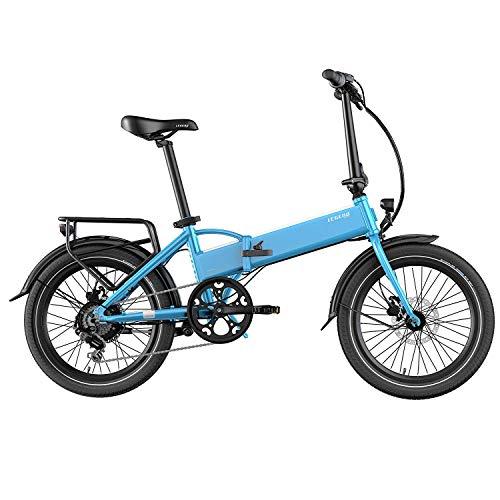 Legend Monza Vélo Électrique Pliant Smart eBike Roues de 20 Pouces, Freins Disque Hydraulique, Batterie ION 36V