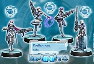 Corvus Belli Posthumans Boxed Set (4) Aleph Infinity