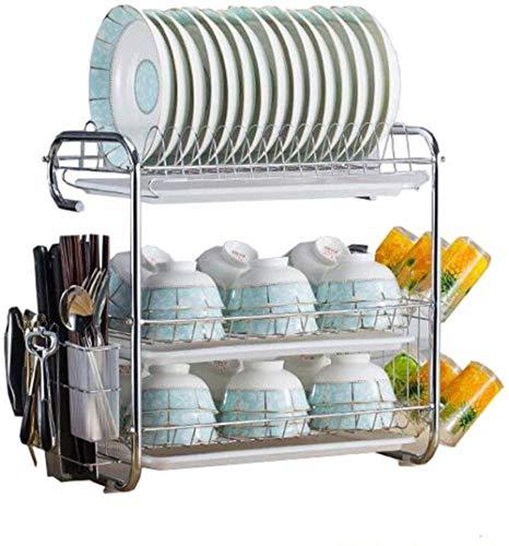 XXT Matériel de Cuisine Rack Arts de la table Boîte de rangement Plate Bowl Support de rangement Couteau rack Armoire rack vaisselle vidange Bowl