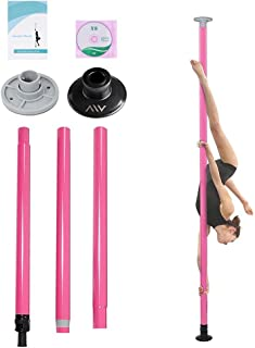 Mageshi Fitness Dancing Pole Kit Portable Non-Spinning Dance Pole