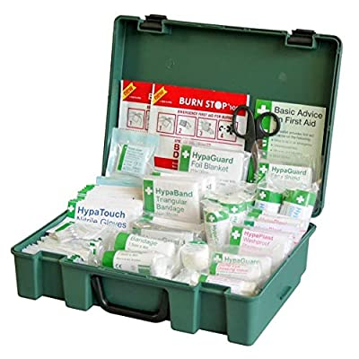 Safety First Aid Group Large British Standard First Aid Kit (BS-8599-1:2019 Compliant) from Safety First Aid