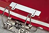 Durable 299602 Abheftschieber (zur Ablage in Ordnern) 50 Stück weiß