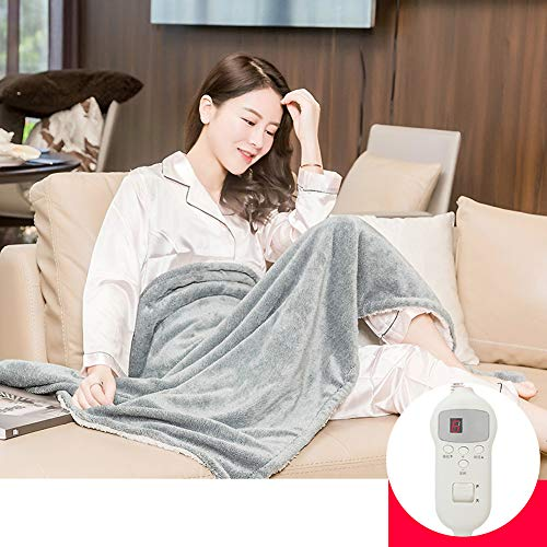 Preisvergleich Produktbild ASDFGH Winter Kuscheln Heizdecke,  Beheizte Decke für Office Knie-Decke Heizkissen Sicherheit Gemütlich-D 90X140cm(35x55inch)