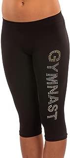 Gymnast Gymnastics Sequined Stretch Capri Leggings in Two Sizes …