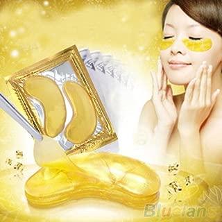 Generic 5 Packs Moisturizing Eye Patches Sheet Beauty Gold Crystal Collagen Eye Mask 4E1C