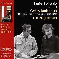 Berio - Coro; Epifanie (2009-05-12)