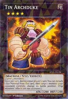 Yu-Gi-Oh! - Tin Archduke (BP03-EN128) - Battle Pack 3: Monster League - 1st Edition - Shatterfoil