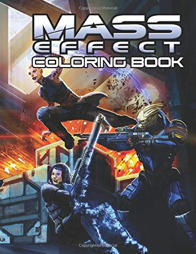 Mass Effect Coloring Book: Color and save the galaxy from the Reapers