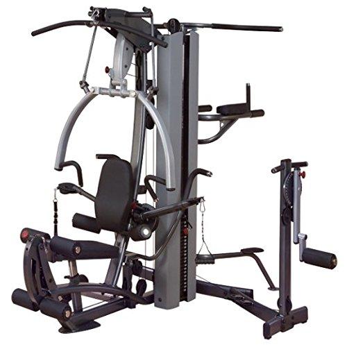 Body-Solid Fusion 600 gimnasio en casa (F600/2) con libre multi-hip accesorio. También incluye