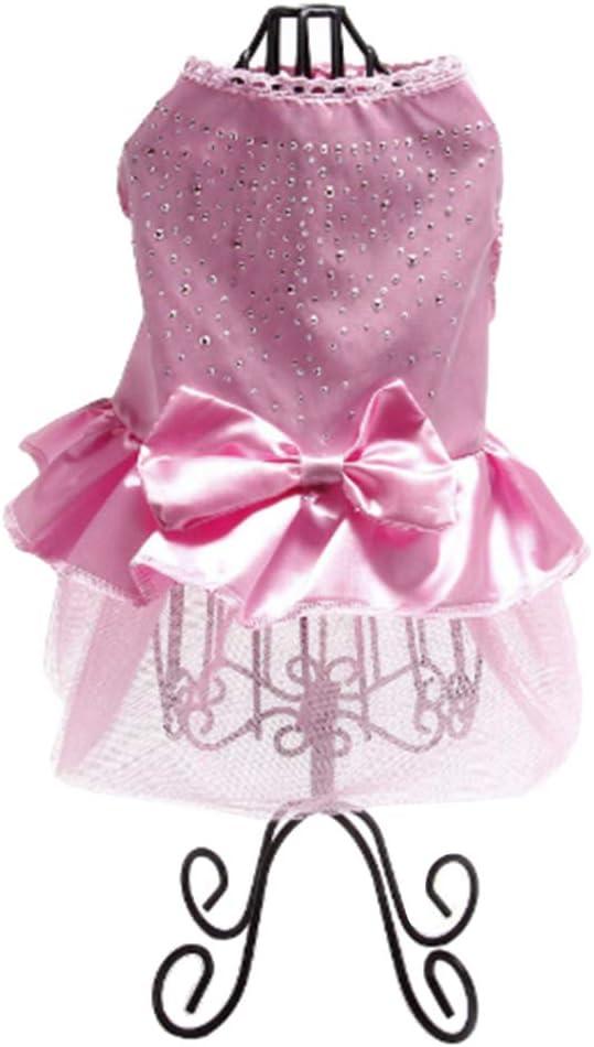 Pet Dog Spring Summer Clothes Skirt Dre Wedding Max 86% OFF Supplies Mail order cheap