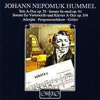 Trio A-Dur Op. 78 Sonaten Fis by JOHANN NEPOMUK HUMMEL (1995-12-12)