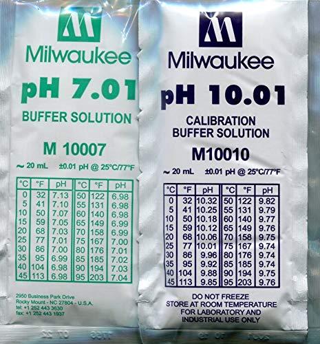 generisch Kit de calibración pH 5 x 7,01 y 5 x 10,01 bolsa de 20 ml