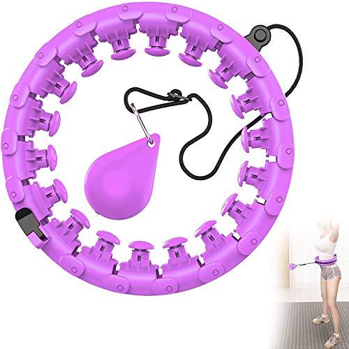 BHAHFL Fitness Masaje de neumáticos Hula Hoop no Deja Caer artefacto de pérdida de Peso de Yoga Hula Hoop Equipo Deportivo Adecuado para Adultos y niños