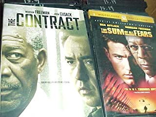 The Contract , the Sum of All Fears : Morgan Freeman 2 Pack Collection