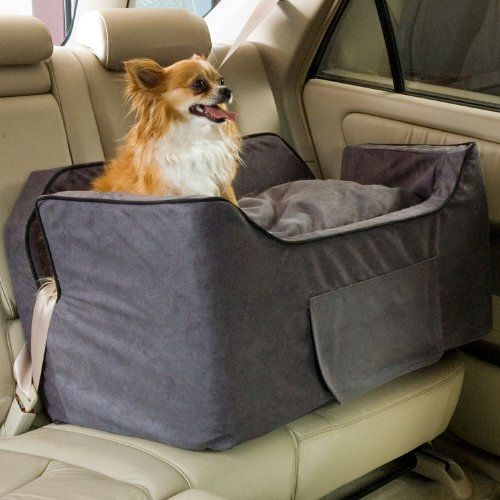 Snoozer Large Luxury Lookout Ii Pet Car Seat, Anthracite/Black...