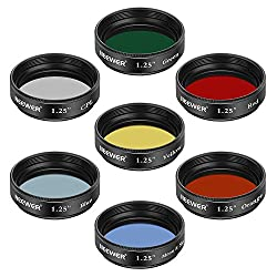 Neewer 1.25 inches Telescope Filters Set