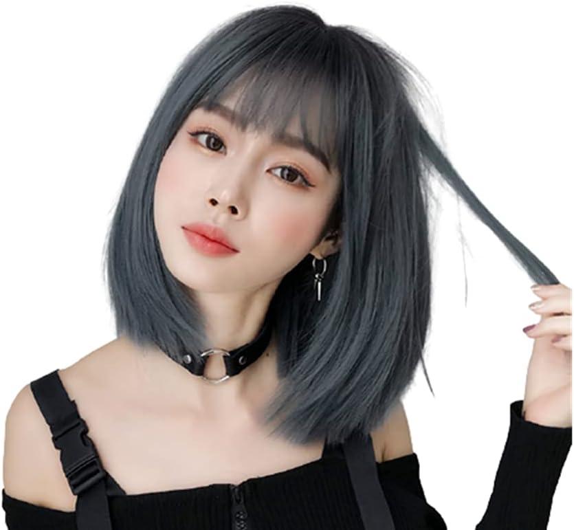 Wig Female Japanese Air Bangs Bobo Fashion online shop Japan Maker New Shoulder-Len Headgear