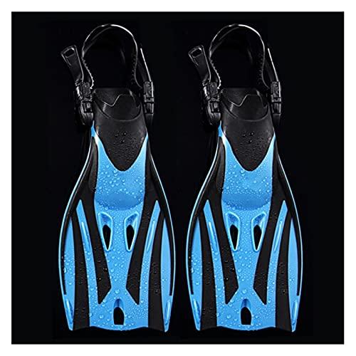 Deporte acuático Aletas de natación para niños Zapatos de Rana de Buceo Ajustables Silicone Professional Equipo Entrenamiento Snorkeling Largo Kids Bucking Fippers para niños niñas Hombres Mujeres