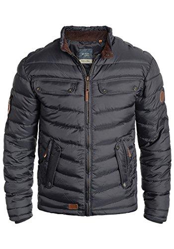 Blend Camaro Herren Steppjacke Übergangsjacke Jacke mit Stehkragen, Größe:S, Farbe:India Ink (70151)
