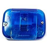 DDU LCD-Bildschirm Schrittzähler Pedometer Klipp Gewicht Kalorien Für Gehen Laufen Blau