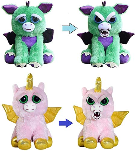 Feisty Pets Dragon and Alicorn [Winged Unicorn] Bundle