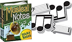 Sheet Music Themed Sticky Notes - Best Gifts for Music Teachers